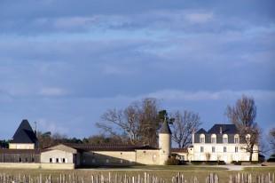 Vue du Château Guiraud