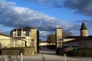 Portail du Château Guiraud