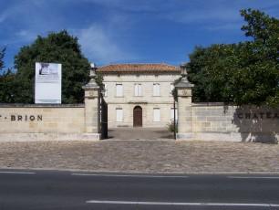 Entrée du Château Haut-Brion