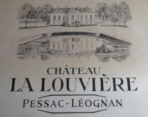 Etiquette du Château La Louvière