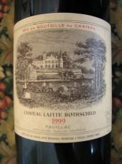 Château Lafite Rothschild 1999