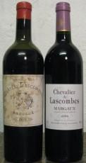 Château Lascombes 1929 et Chevalier de Lascombes 2003