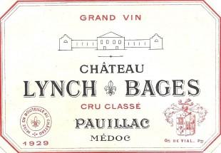 Étiquette du Château Lynch-Bages