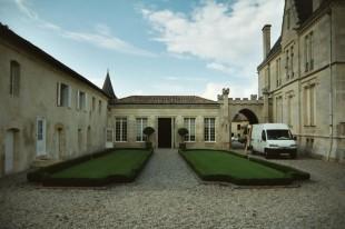 Cour intériérieure du Chateau Pape-Clément