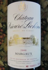 Château Prieure-Lichine 2000