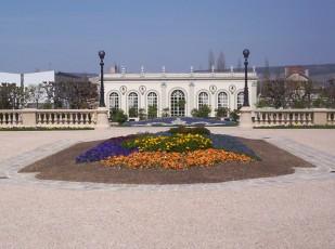 Français: Épernay - Orangeraie du champagne Moët et Chandon, avenue de champagne.