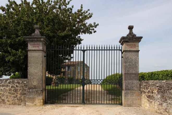 Portail du Château Canon