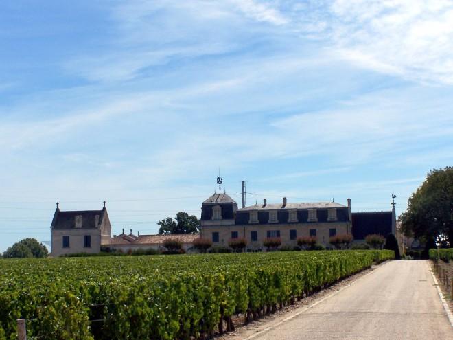 Vue du Château la Mission Haut-Brion
