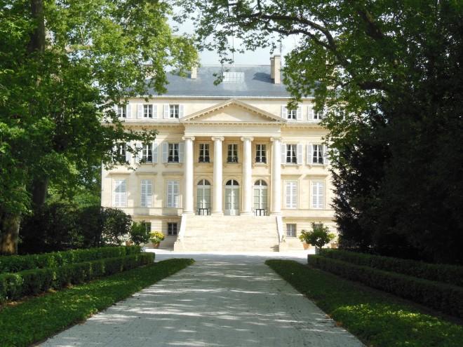 Façade principale du château Margaux