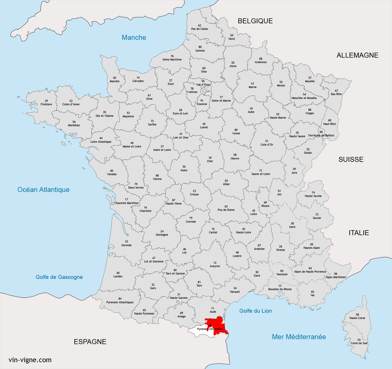 Region du roussillon vins du roussillon vin for Ou se promener dans les yvelines