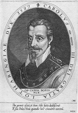 Le duc de Lorraine Charles III