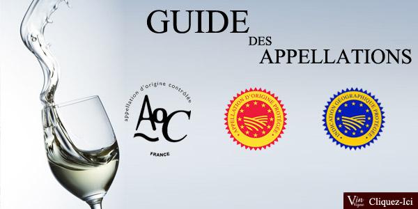 Le Guide des appellations viticoles françaises !