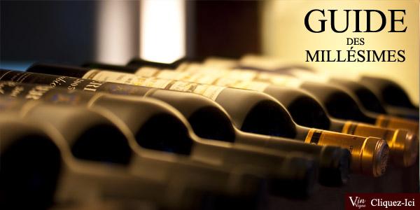 Guide des millésimes: trouvez les meilleures années des vins de France !