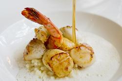 Coquillage et crustacé grillés - Coquillage et crustacé poêlés - Mollusque grillé: accords Mets et Vins