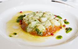 Crustacé cru - Carpaccio de crustacé: accords Mets et Vins