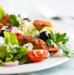 Salade de viande: accords Mets et Vins