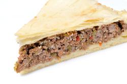 Tourte à la viande - Tarte à la viande: accords Mets et Vins