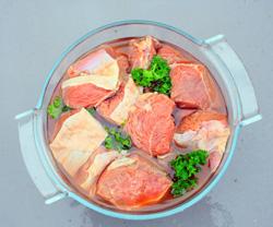 Viande rouge marinée: accords Mets et Vins