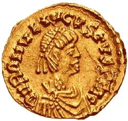 l'empereur romain Romulus Augustule abdique