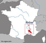 Vignoble rhone