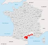 carte vin region languedoc